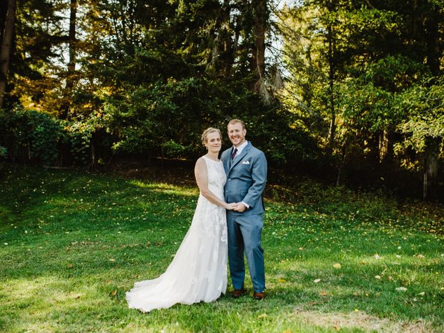 Austin and Nicole's Wedding in Langley, Washington 11