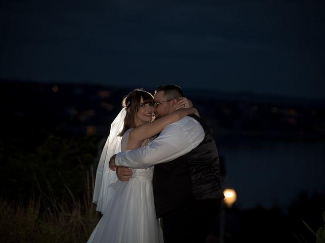 The wedding of Tori and Buck