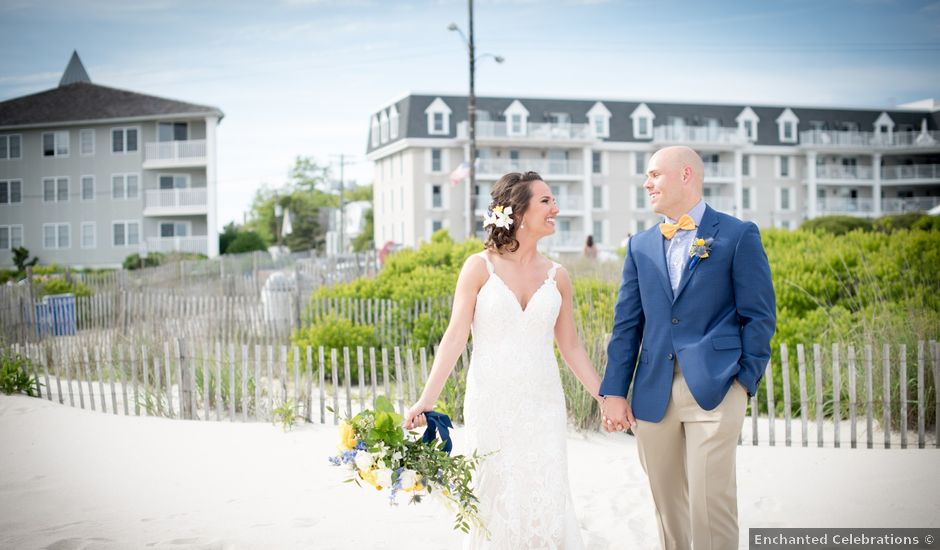 Justin and Katie's Wedding in Cape May, New Jersey