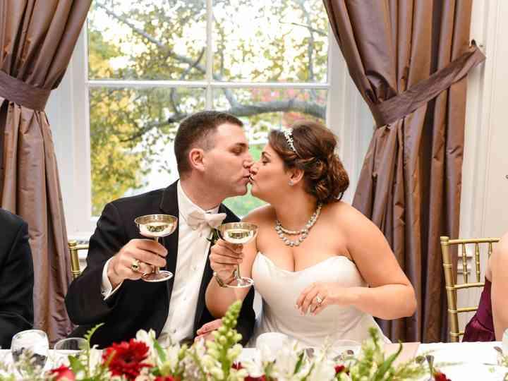 The wedding of Hannah and Jason