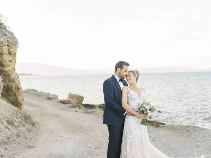 The wedding of Stavroula and Panos