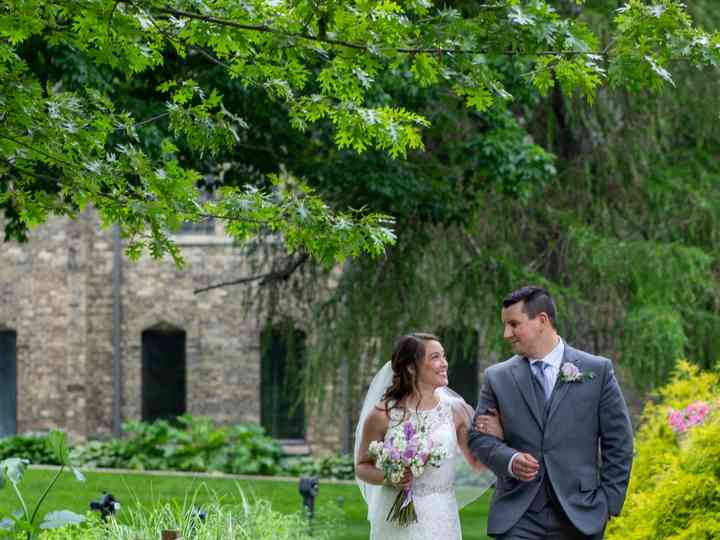 The wedding of Kirstin and Andrew