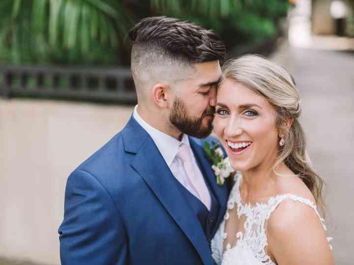 The wedding of Amanda and Cory