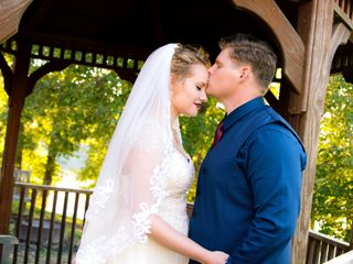 The wedding of Shane and Erica