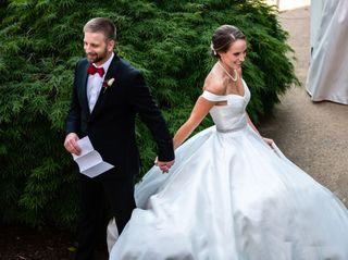 The wedding of Deidre and Eric
