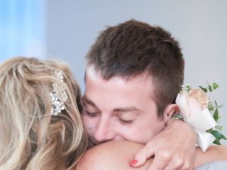 The wedding of Lauren and Brad 1