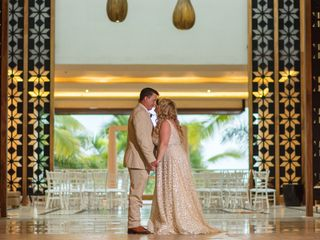 The wedding of Tiffany and Donnie