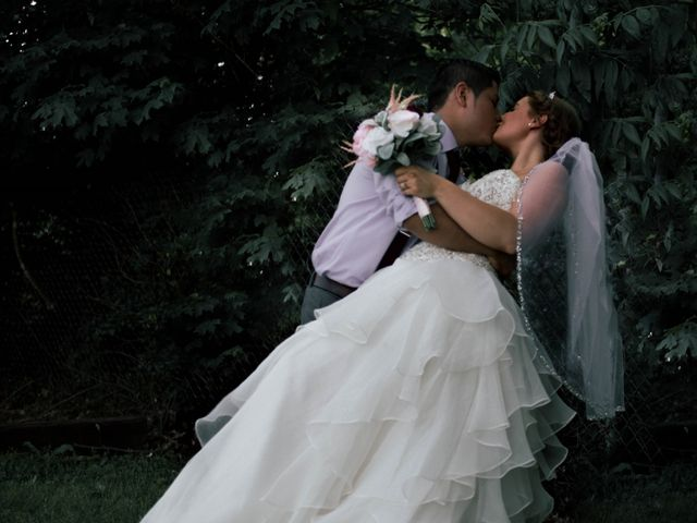 The wedding of Shelbie and David