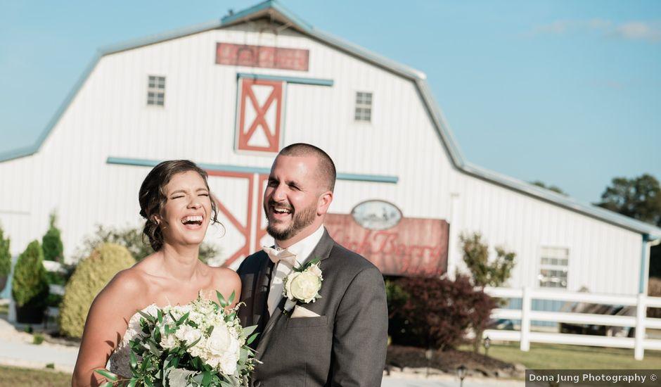 Jessica and Glenn's Wedding in Frankford, Delaware