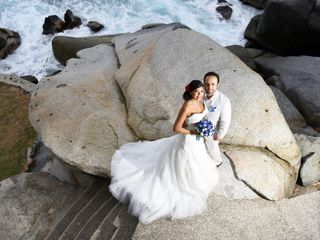 The wedding of Nataly and Salvador