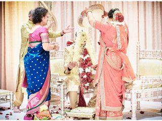 The wedding of Shimoli and Sravan 1