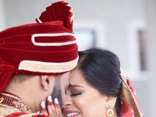 The wedding of Shimoli and Sravan 2