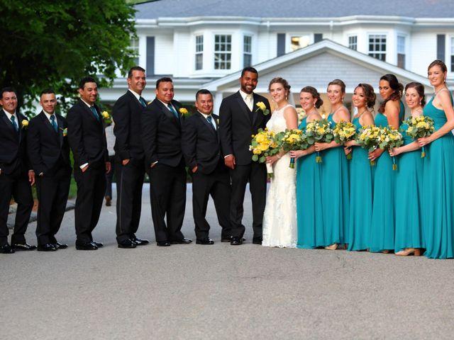 Junior and Erica's Wedding in Sharon, Massachusetts 16
