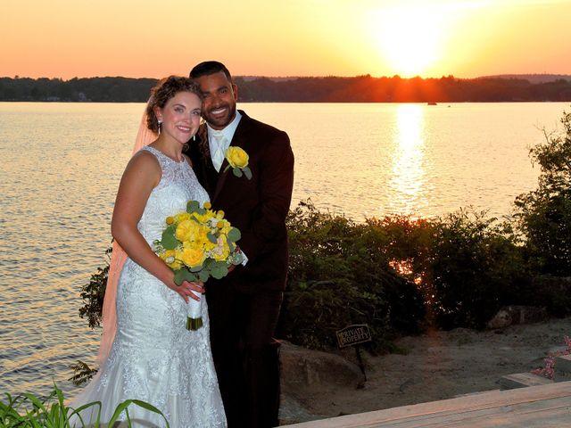Junior and Erica's Wedding in Sharon, Massachusetts 19