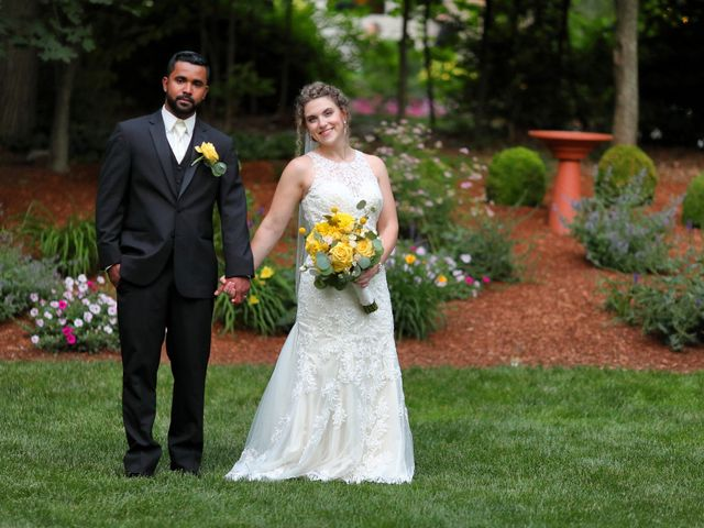 Junior and Erica's Wedding in Sharon, Massachusetts 21