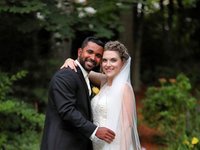 Junior and Erica's Wedding in Sharon, Massachusetts 22