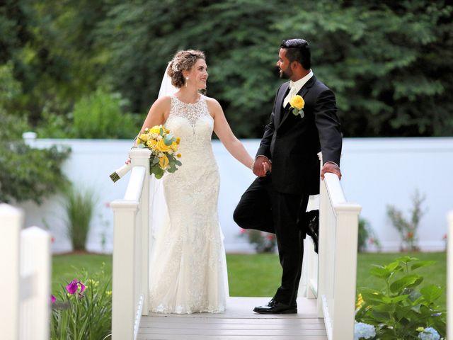 Junior and Erica's Wedding in Sharon, Massachusetts 24