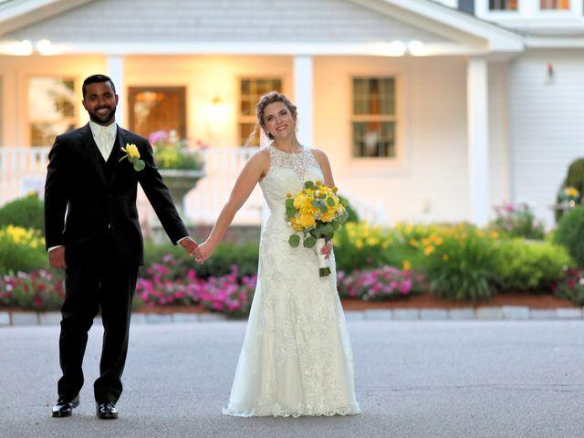Junior and Erica's Wedding in Sharon, Massachusetts 25