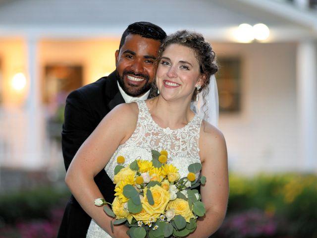 Junior and Erica's Wedding in Sharon, Massachusetts 1