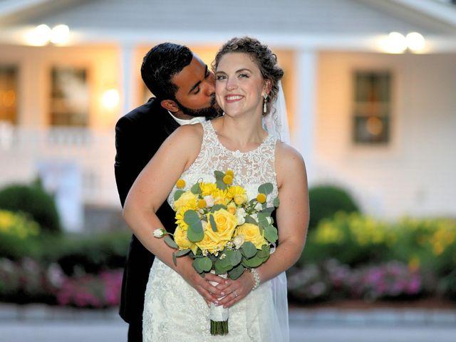 Junior and Erica's Wedding in Sharon, Massachusetts 26