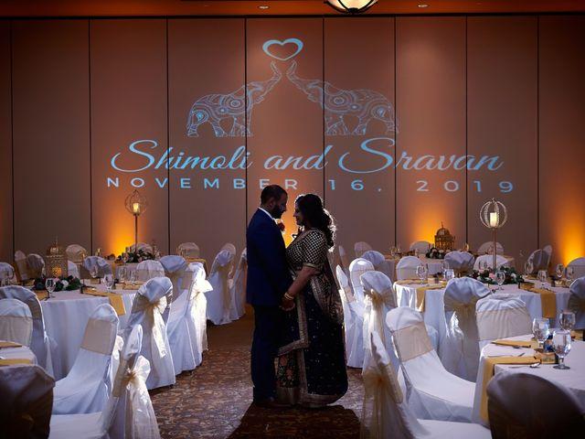 The wedding of Shimoli and Sravan