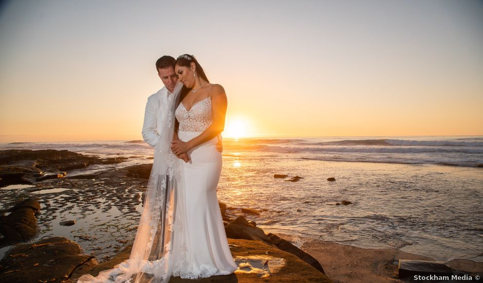 Tommy and Yessica's Wedding in La Jolla, California