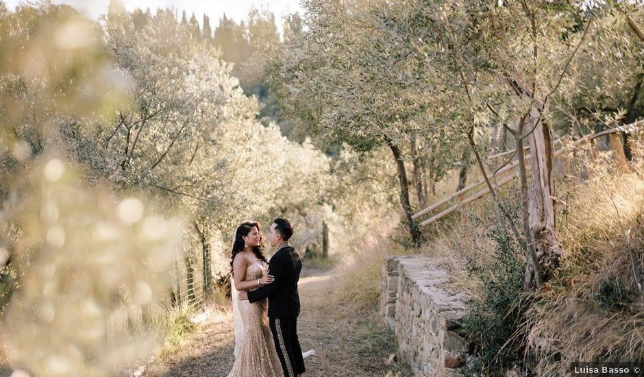 Kevin and Alyssa's Wedding in Tuscany, Italy