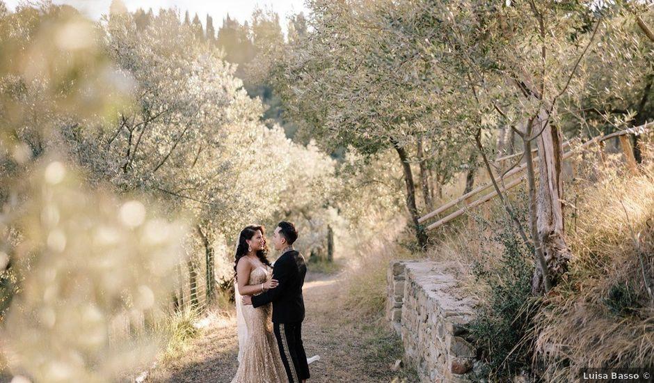 Kevin and Alyssa's Wedding in Tuscany, Italy