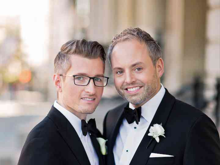 The wedding of Eric and Christopher