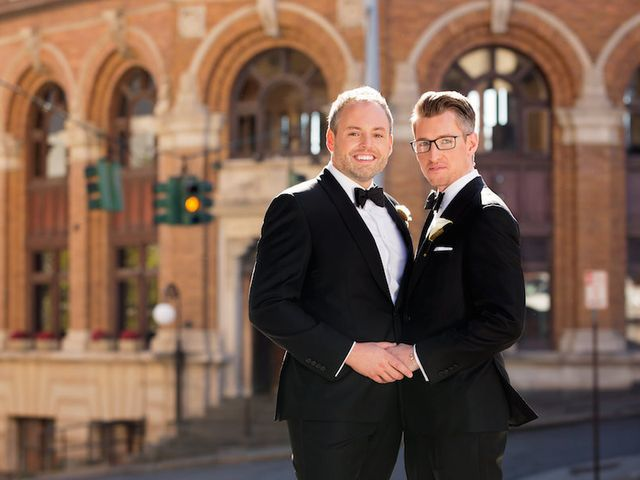 Christopher and Eric's Wedding in Albany, New York 8