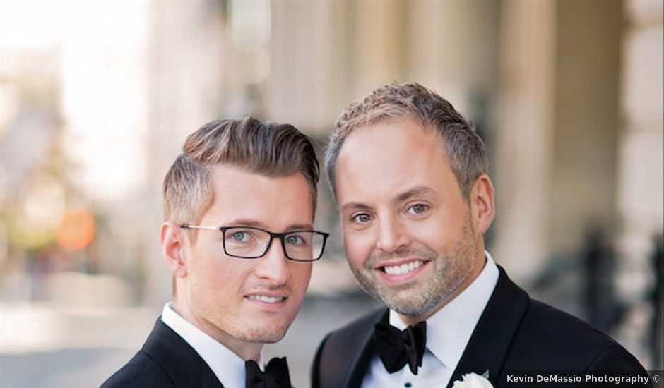 Christopher and Eric's Wedding in Albany, New York