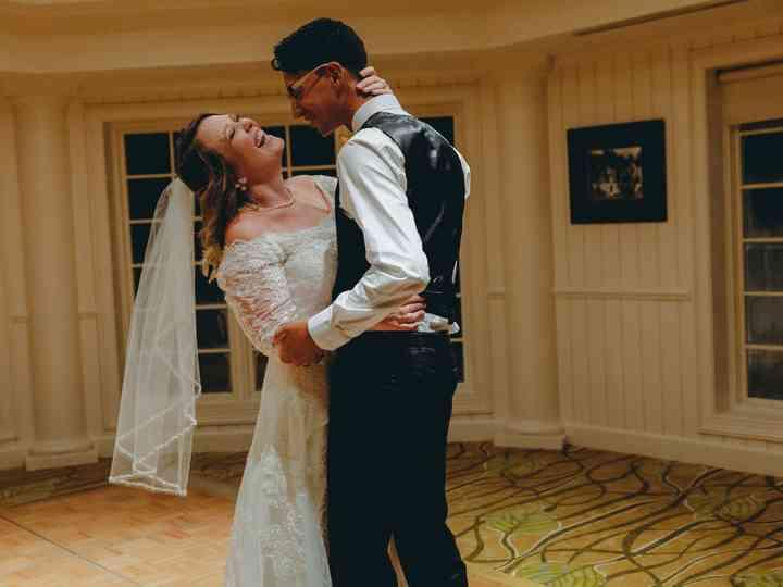 The wedding of Carlos Moreno and Sarah Moreno