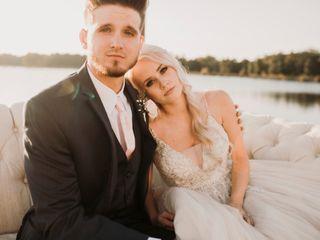 The wedding of Alex and Brad