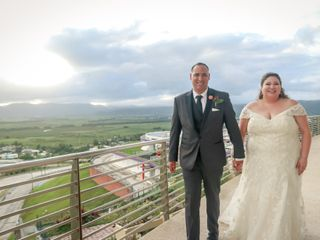 The wedding of Gladys and Jose