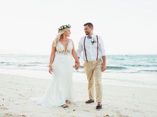 The wedding of Makayla and Jake