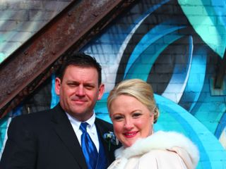 The wedding of Jeffrey and Melissa
