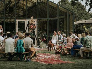 The wedding of Caroline and Rauric 1