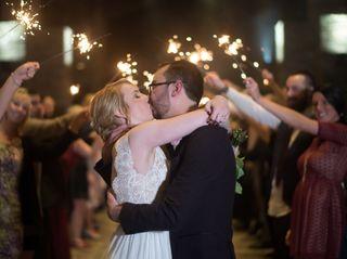 The wedding of Jenna and Alex 1