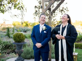 The wedding of Samantha and Mike 1