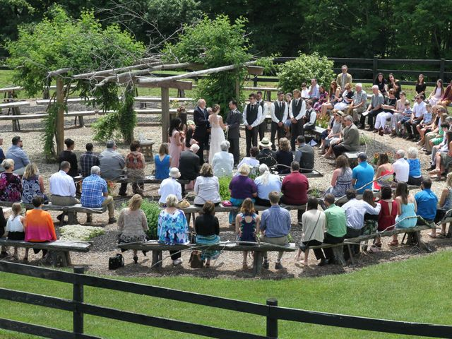 Luke and Lauryn's Wedding in Rockwood, Pennsylvania 5