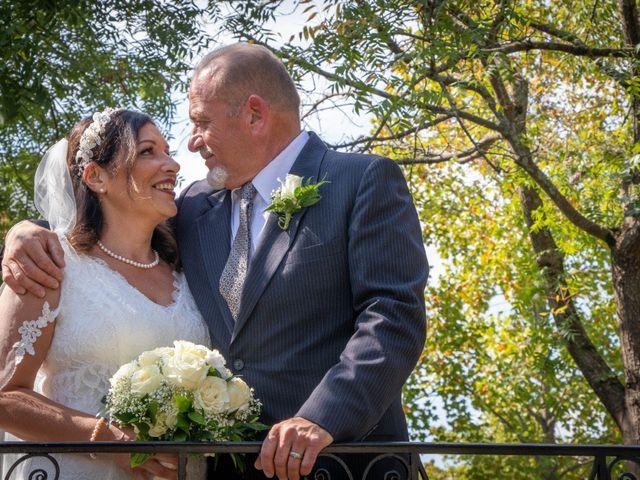 The wedding of Edward and Tabitha
