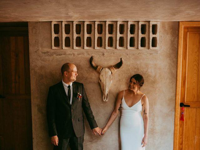 The wedding of Agatha and Hans
