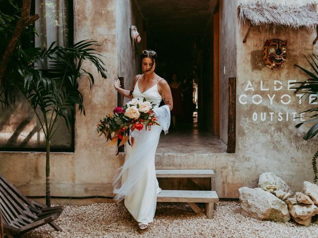 Hans and Agatha's Wedding in Tulum, Mexico 34