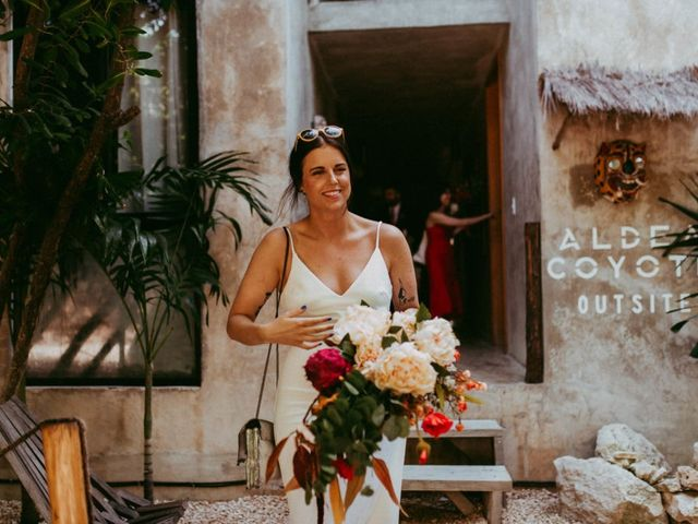 Hans and Agatha's Wedding in Tulum, Mexico 35