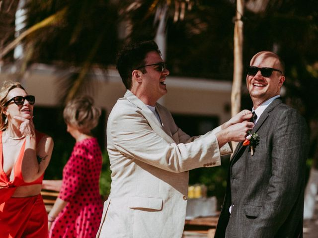Hans and Agatha's Wedding in Tulum, Mexico 42