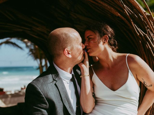 Hans and Agatha's Wedding in Tulum, Mexico 48