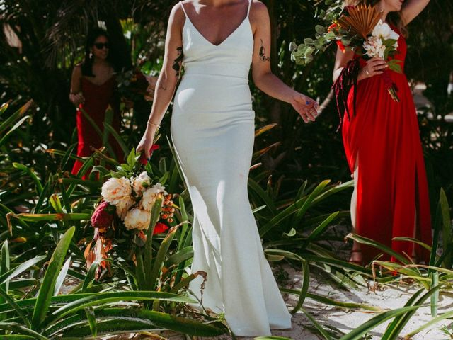 Hans and Agatha's Wedding in Tulum, Mexico 49