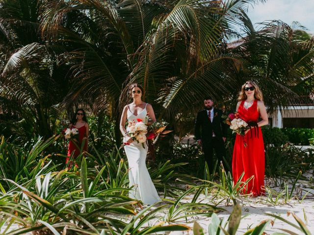 Hans and Agatha's Wedding in Tulum, Mexico 50