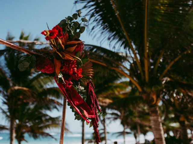 Hans and Agatha's Wedding in Tulum, Mexico 57