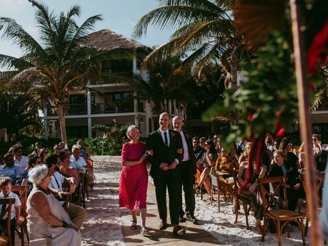 Hans and Agatha's Wedding in Tulum, Mexico 61